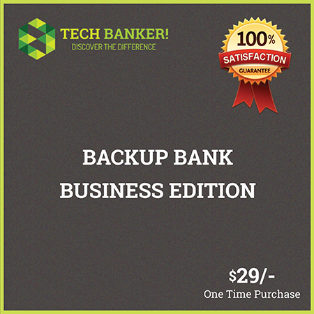 Backup Bank Business Edition