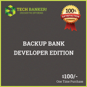Backup Bank Developer Edition