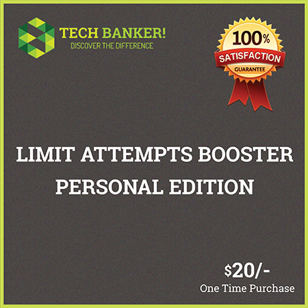 Limit Attempts Booster Personal Edition