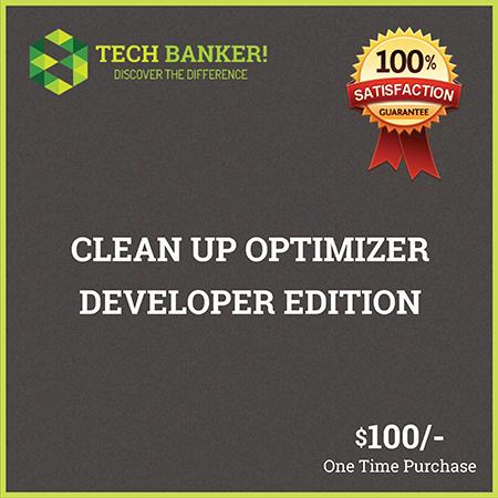 Clean Up Optimizer Developer Edition