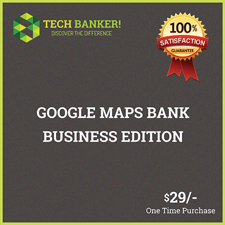 Google Maps Bank Business Edition