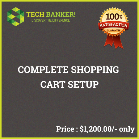 E-Commerce Related Services-complete-shopping-cart-setup